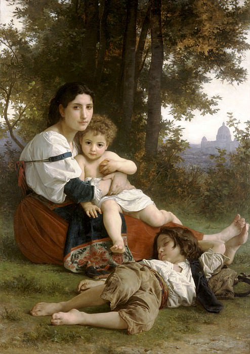 The rest. Adolphe William Bouguereau