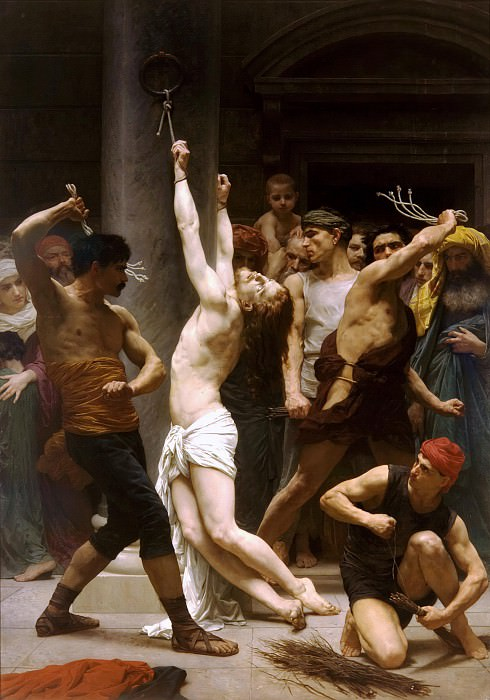 The Flagellation of Christ. Adolphe William Bouguereau