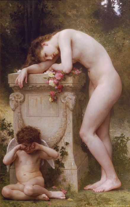 Elegy. Adolphe William Bouguereau