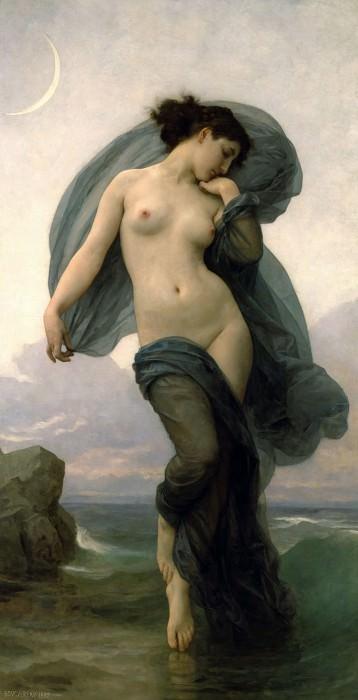 Evening Mood. Adolphe William Bouguereau