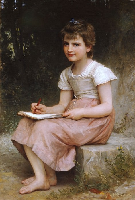 A Vocation. Adolphe William Bouguereau