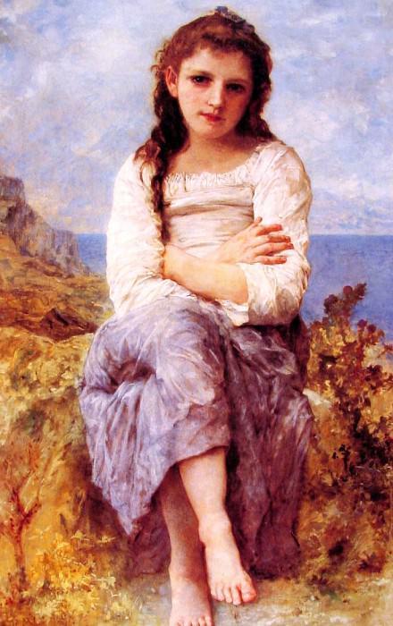 Il Dolce far niente. Adolphe William Bouguereau