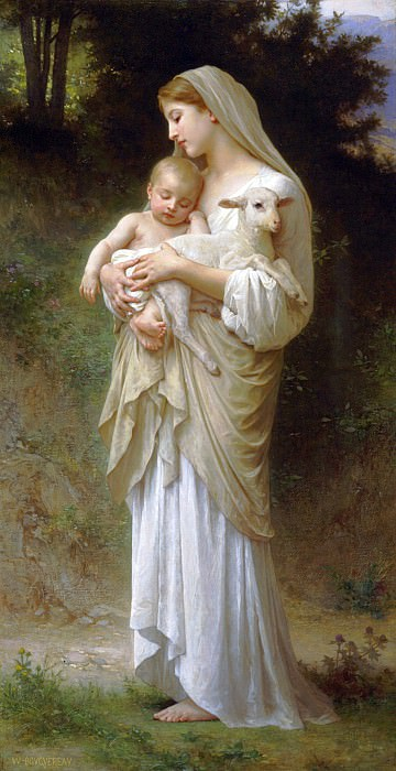 innocence. Adolphe William Bouguereau