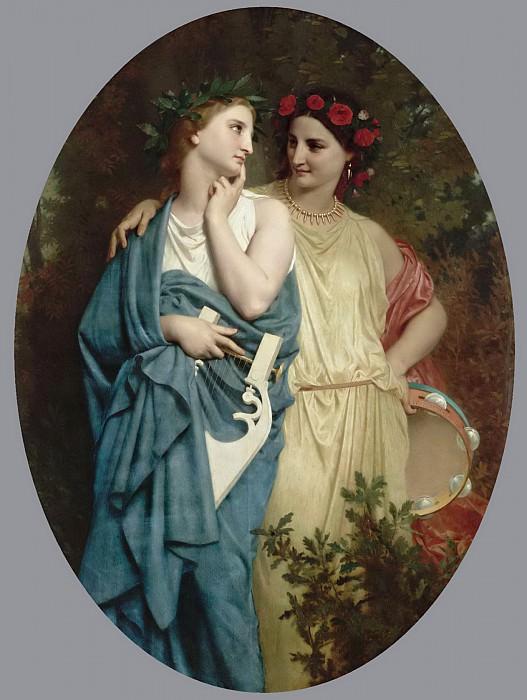 Procne and Philomela. Adolphe William Bouguereau