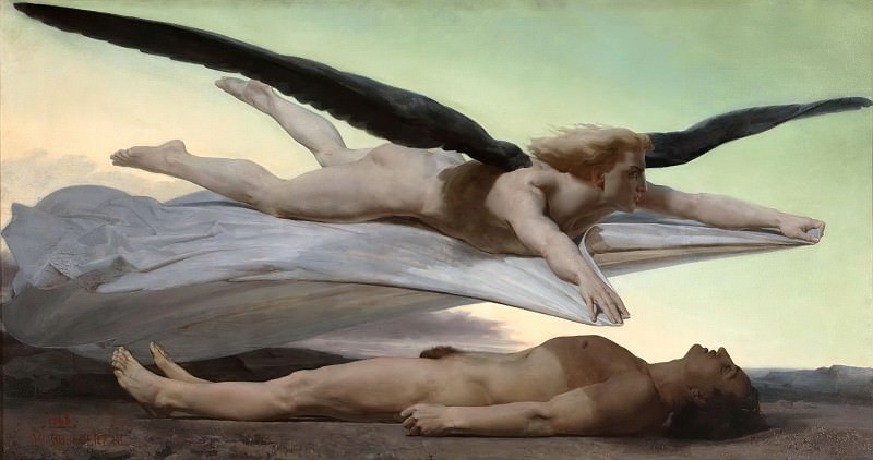 Equality before Death. Adolphe William Bouguereau