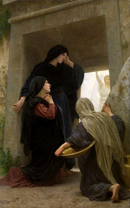 Holy Women at the Sepulcher. Adolphe William Bouguereau