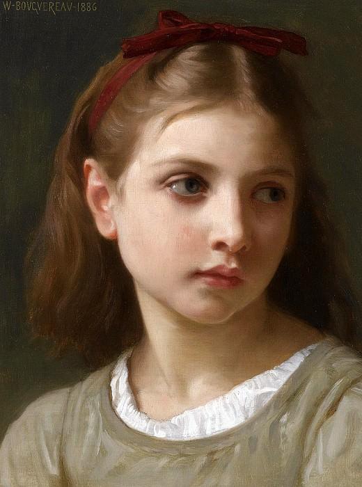Маленькая девочка. Адольф Уильям Бугро