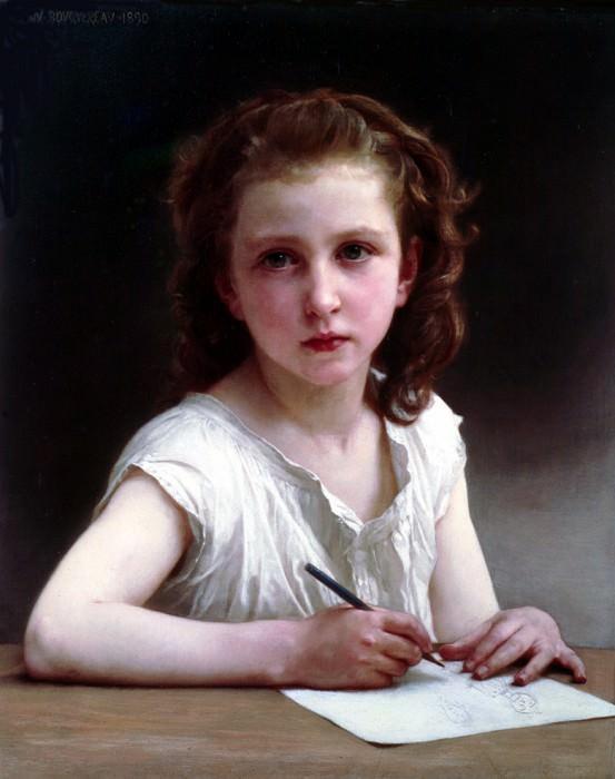 A Vocation. Adolphe William Bouguereau