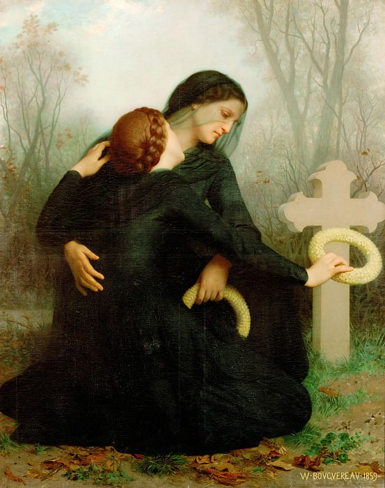 Day of the Dead. Adolphe William Bouguereau