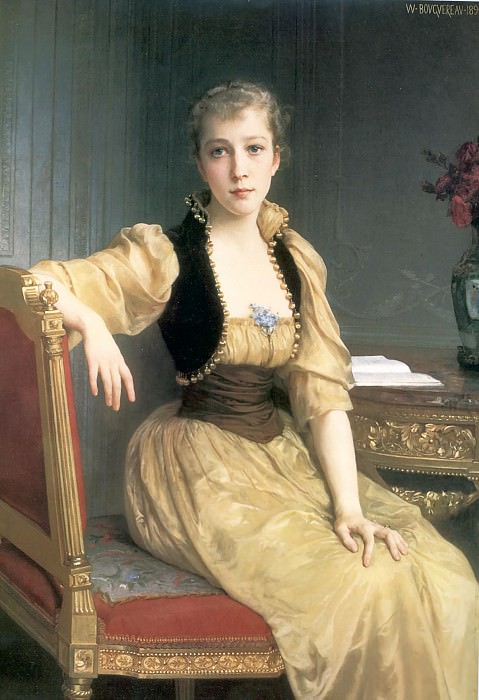 Lady Maxwell. Adolphe William Bouguereau