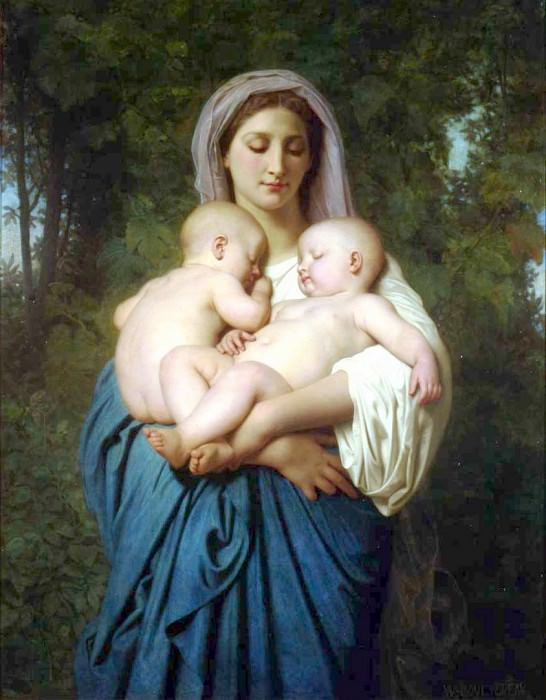 Charity. Adolphe William Bouguereau