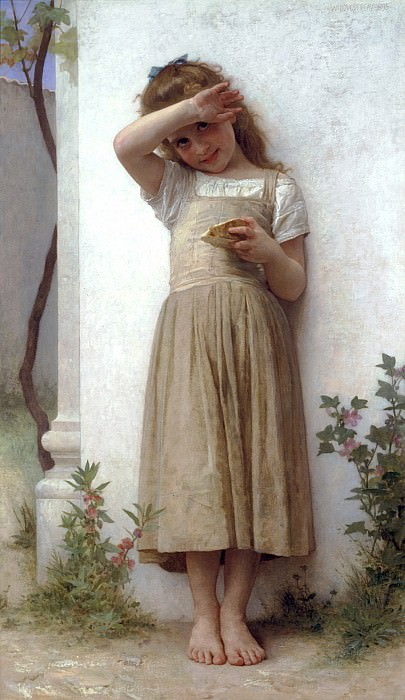 In Penitence. Adolphe William Bouguereau