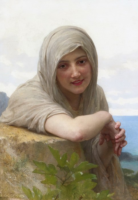 SOUVENIR. Adolphe William Bouguereau