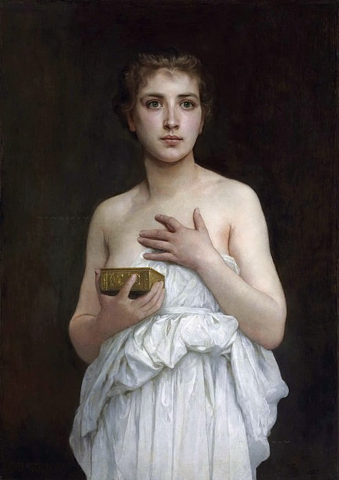 Pandora. Adolphe William Bouguereau