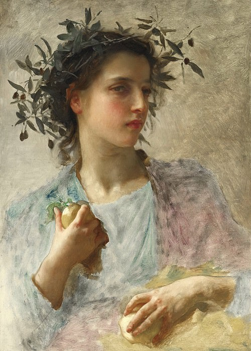 SUMMER. Adolphe William Bouguereau
