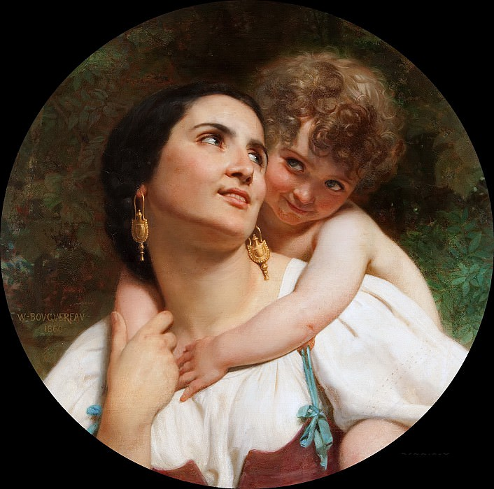 Woman from Alvito. Adolphe William Bouguereau