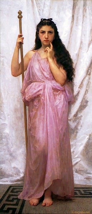 Priestess. Adolphe William Bouguereau