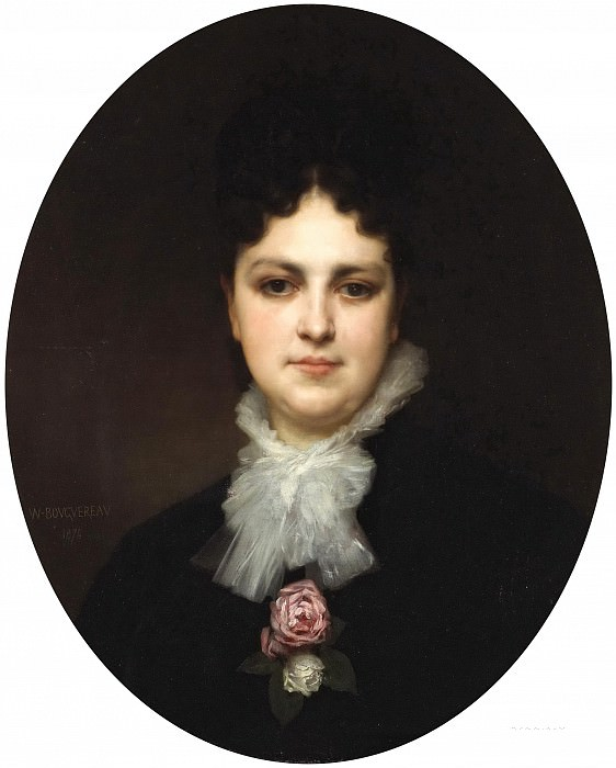 A portrait of Mrs. Addison Head. Adolphe William Bouguereau