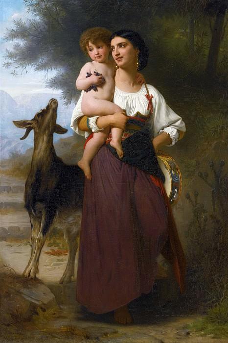Convoitise. Adolphe William Bouguereau