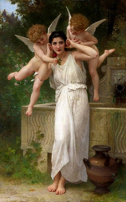 Youth. Adolphe William Bouguereau