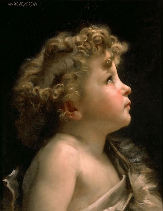 Young John the Baptist. Adolphe William Bouguereau