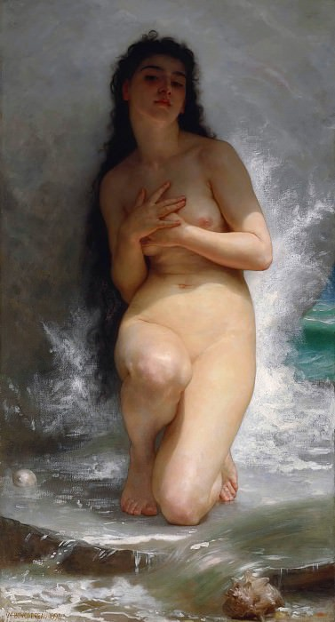 The Pearl. Adolphe William Bouguereau