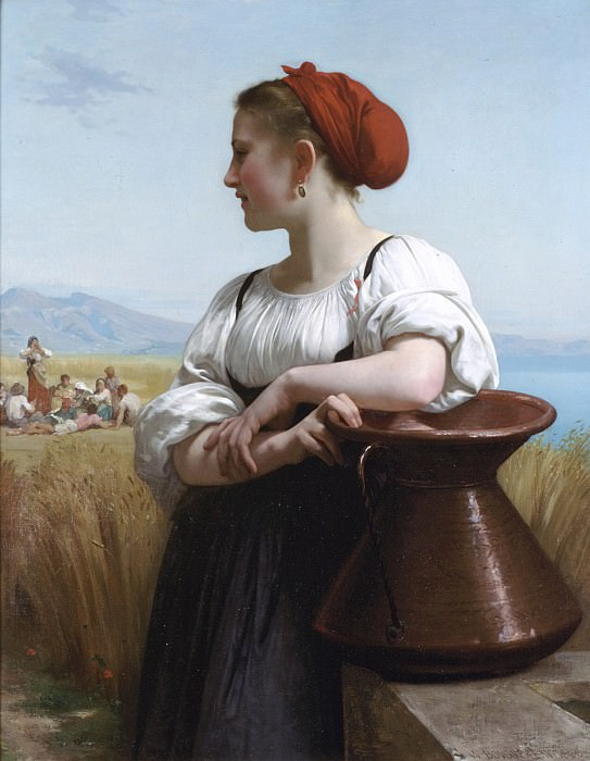 Harvesters. Adolphe William Bouguereau