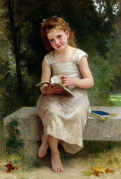The diary. Adolphe William Bouguereau