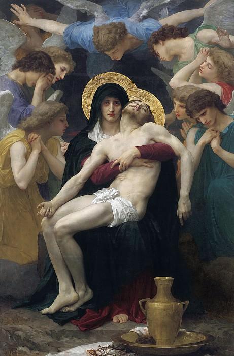 Pieta. Adolphe William Bouguereau