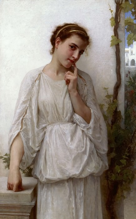 Daydream. Adolphe William Bouguereau