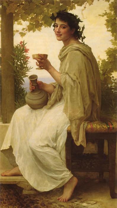 Bacchante. Adolphe William Bouguereau