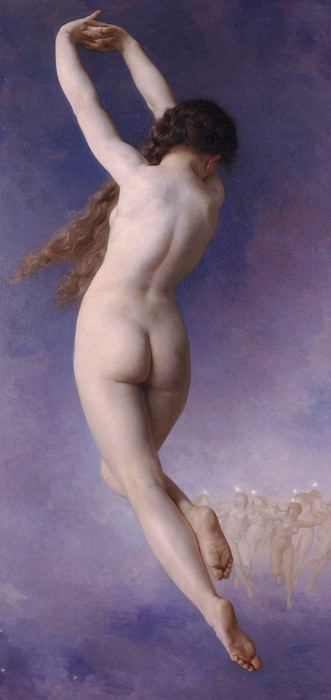 Pleiades. Adolphe William Bouguereau