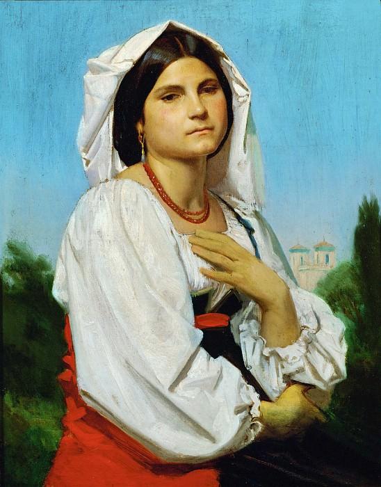 Therese. Adolphe William Bouguereau