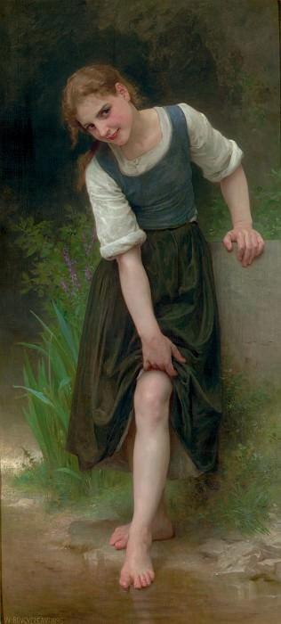 La Gue. Adolphe William Bouguereau