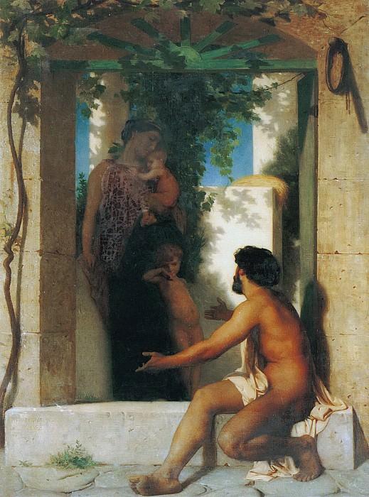 ROMAN SCENE. Adolphe William Bouguereau