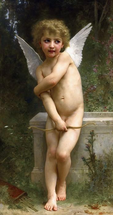 Overshot Cupid. Adolphe William Bouguereau