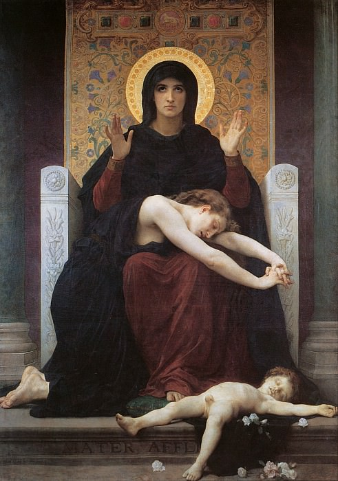 Vierge consolatrice. Adolphe William Bouguereau