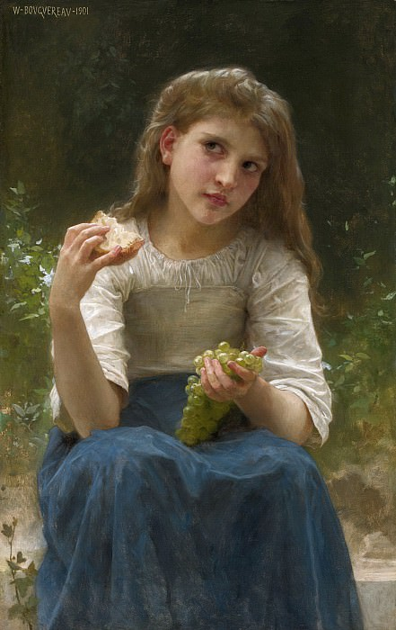 THE TASTE. Adolphe William Bouguereau