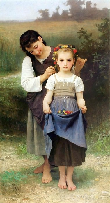 The Jewel of the Fields. Adolphe William Bouguereau