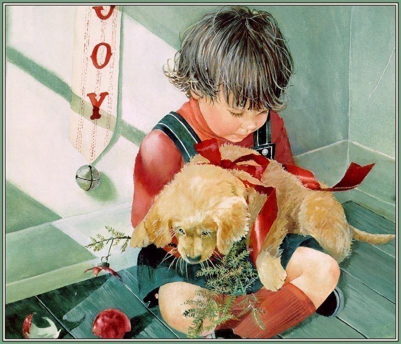 Puppy Joy. Carolyn Blish