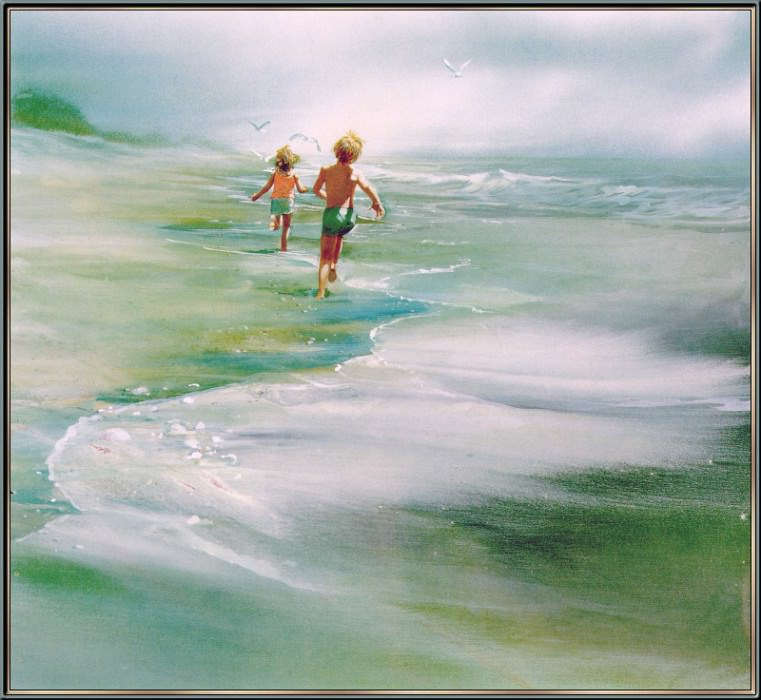 Footsteps To The Spring. Carolyn Blish