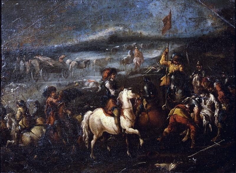 Сцена битвы. Брешианино делле Батталье (Франческо Монти)