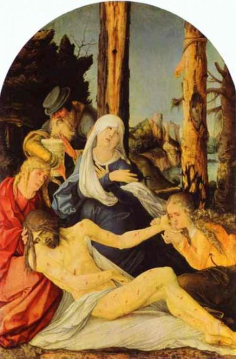 Оплакивание Христа. Ханс Бальдунг Грин