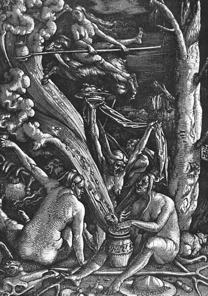 Witches Sabbath. Hans Baldung Grien