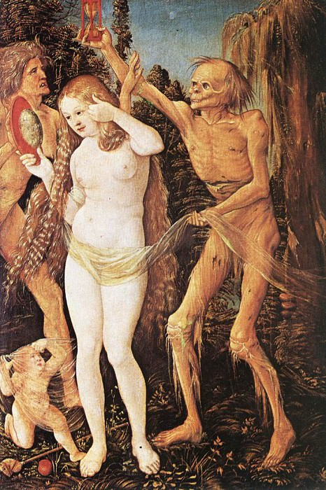 Three Ages Of The Woman And The Death. Hans Baldung Grien