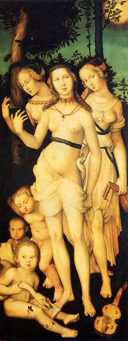Harmony Of The Three Graces. Hans Baldung Grien