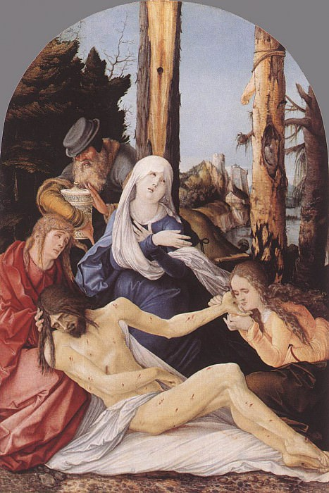 The Lamentation Of Christ. Hans Baldung Grien