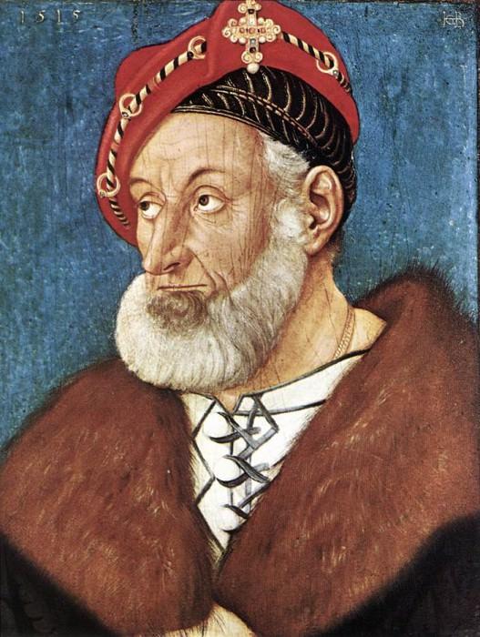 Count Christoph I Of Baden. Hans Baldung Grien
