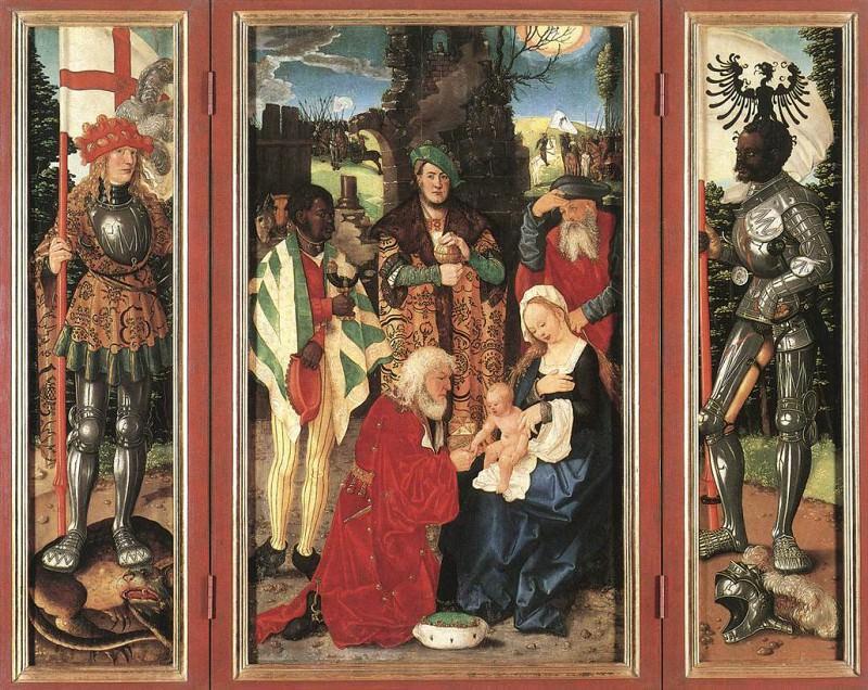 Adoration Of The Magi. Hans Baldung Grien