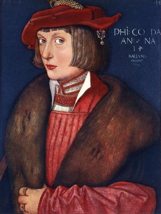 Count Philip. Hans Baldung Grien